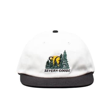 Severn Goods Forestry Cap - Off White / Black