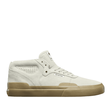 Emerica Pillar Skate Shoes - White / Gum