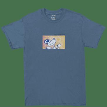Frog Floating Again T-Shirt - Slate