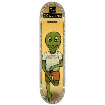 TOY MACHINE Collins Insecurity Deck 7.75