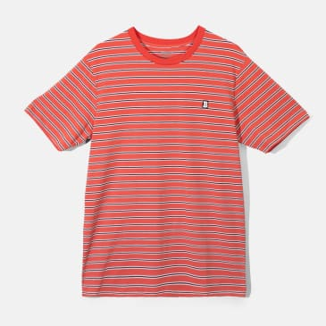 Baker Skateboards Capital B Red Stripe Tee