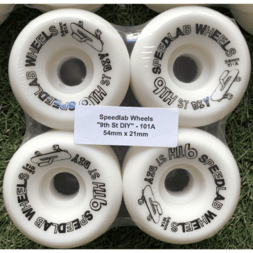 Speed Lab 9th St DIY 101a Wheels - 54mm