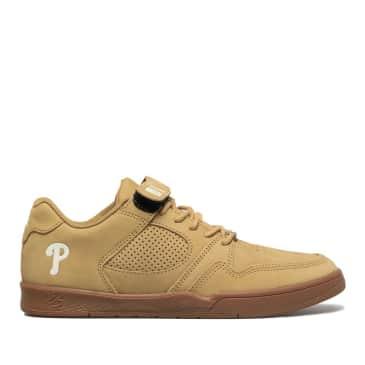 éS Accel Slim Plus Skate Shoes - Tan / Gum