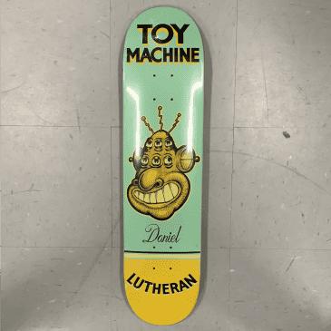 Toy Machine Skateboards Lutheran Pen N Ink Deck 7.75