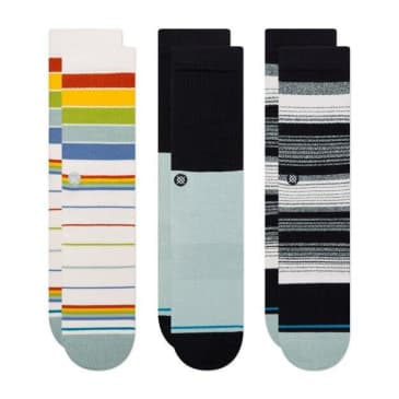 Stance Bad Water 3 Pack Socks