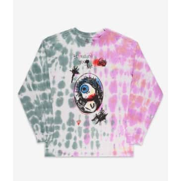 Brixton BB Believe Long Sleeve Green/Red