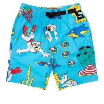 Ripndip Under The Sea Swim Shorts - Blue