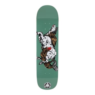 Welcome Skateboards Goodbye Horses on Bunyip Mid (Jade) Deck 8.25""