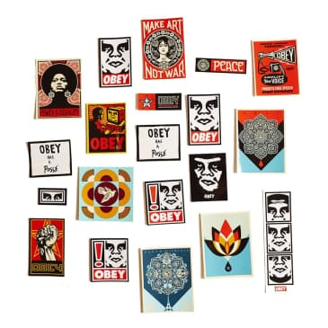 OBEY Assorted Stickers