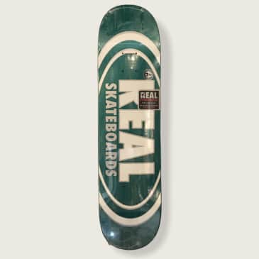 """Real Oval Team 7.75"""" Deck"""