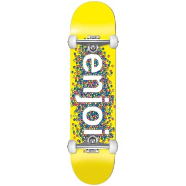 "Enjoi - 8.25"" Candy Coated Complete Skateboard (Yellow)"