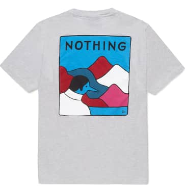 by Parra Nothing T-Shirt - Ash Grey