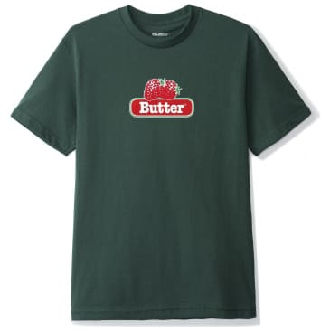 Butter Goods Berry T-Shirt - Forest Green