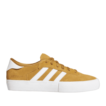 adidas Skateboarding Matchbreak Super Shoes - Mesa / Cloud White / Gold Metallic