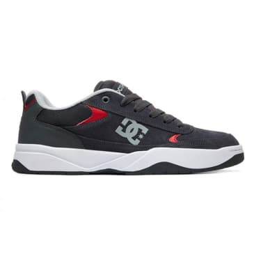 DC Shoes Penza Grey/Grey/Red Shoes