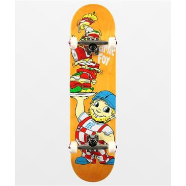Deathwish Jamie Foy Big Boy Complete Skateboard - 8.00 (Orange Stain)
