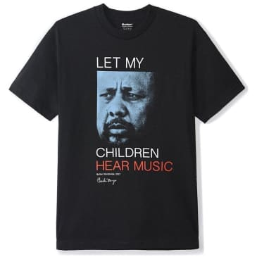 Butter Goods Let My Children Hear Music T-Shirt - Black