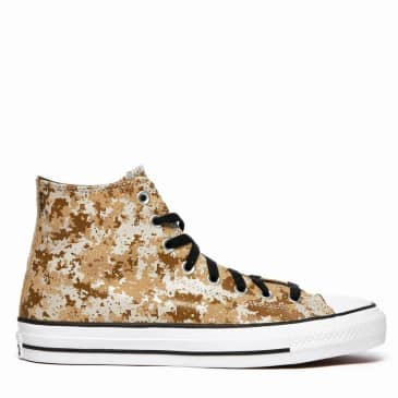 Converse CONS CTAS Pro Hi Shoes - Khaki / Black / White