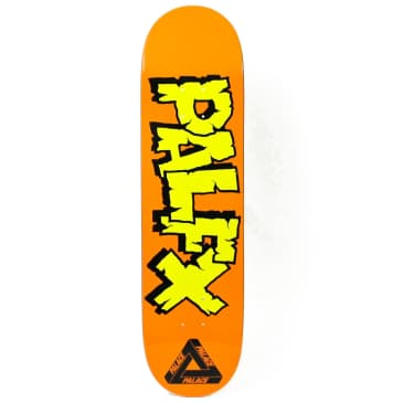 Palace Nein FX Orange Skateboard Deck - 8.1""