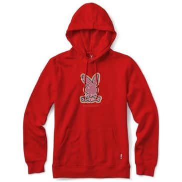 Color Bars x Playboy Tokyo Rabbit Head Hoodie - Red