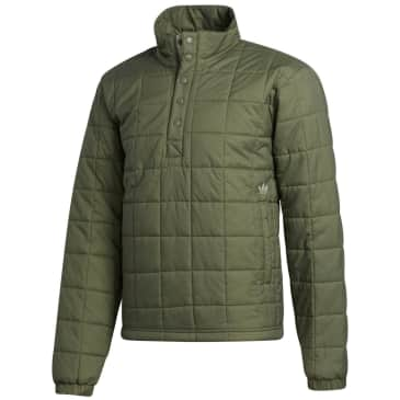 adidas Skateboarding Quilted Jacket - Legacy Green / Feather Grey
