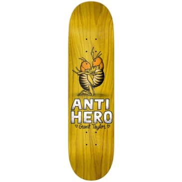 Anti Hero Grant Taylor Lovers II Skateboard Deck 8.12""