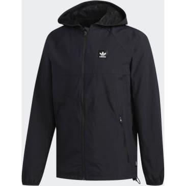 Adidas Dekum Packable Windbreaker Jacket Black - Black