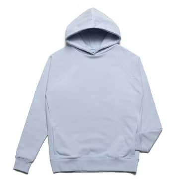 Chrystie NYC - Clean cut side pockets hoodie_Sky Blue