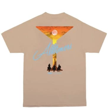 Alltimers 3 Amigos T-Shirt - Sand