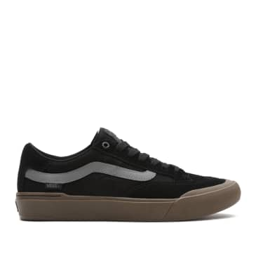 Vans Berle Pro Skate Shoes - Black / Dark Gum