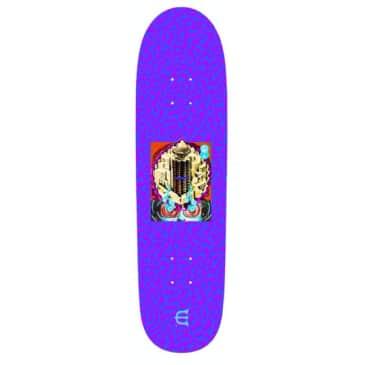 Evien Skateboards Club W Skateboard Deck Purple - 8.8