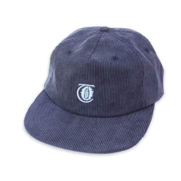 Theories Lantern Corduroy Strapback Hat (Navy)