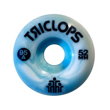Darkroom Triclops Blue Marbles Skateboard Wheels -52 MM 95 A
