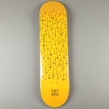 """Carve Wicked 'Team Logo' 8"""" Deck (Yellow)"""