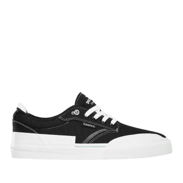 Emerica Dickson Skate Shoes - Black / White