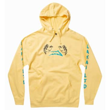 Lakai Lightning Pullover Hooded Sweatshirt (Yellow)
