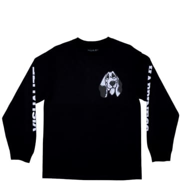 Quasi Happiness Long Sleeve T-Shirt - Black