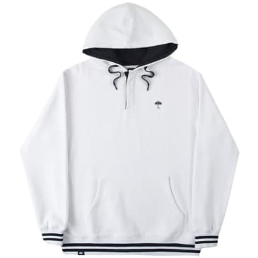 Hélas Buttoned Hoodie - White