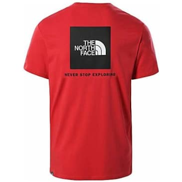 The North Face Box NSE Tee - Rococco Red