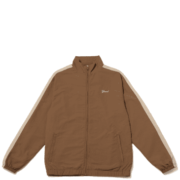 Grand Collection Nylon Jacket - Brown / Cream