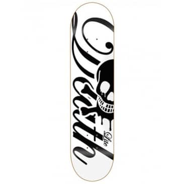 Death Skateboards Script 'Lite' Skateboard Deck White 7.75""