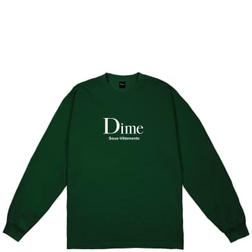 Dime Sous-Vetements Long Sleeve T-Shirt - Forest