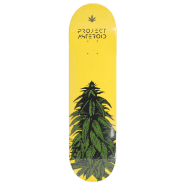 Project Asteroid- Green Bud Deck 8.5""