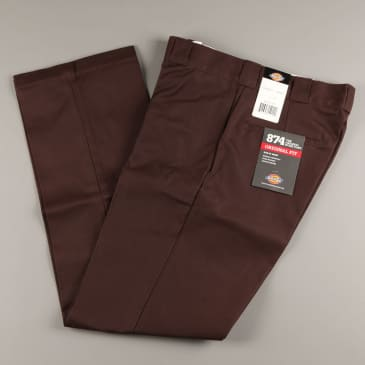 Dickies 'Original 874' Work Pant (Dark Brown)