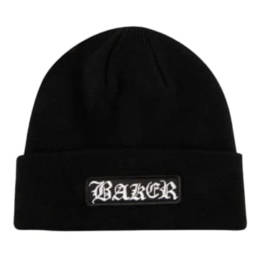 Baker Skateboards Oakland Black Beanie