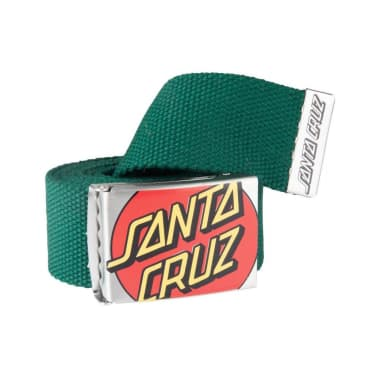 Santa Cruz Crop Dot Belt - Green