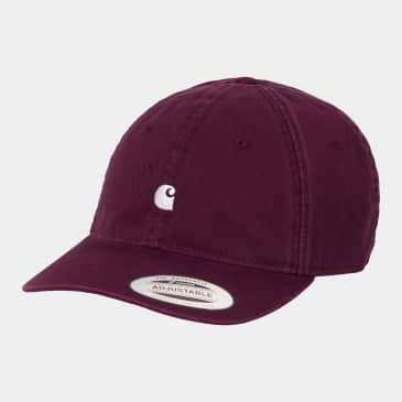 Carhartt WIP Madison Logo Cap - Shiraz / Wax