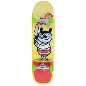 """Darkroom Murderer Bug Hybrid Complete Skateboard 8.75"""" Shaped (With Free Skate Tool)"""