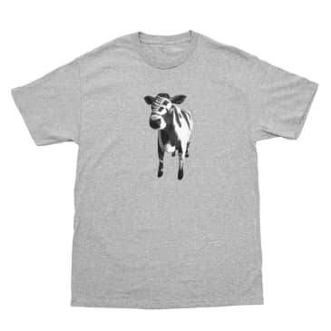 Bronze 56k Cow T-Shirt - Heather Grey