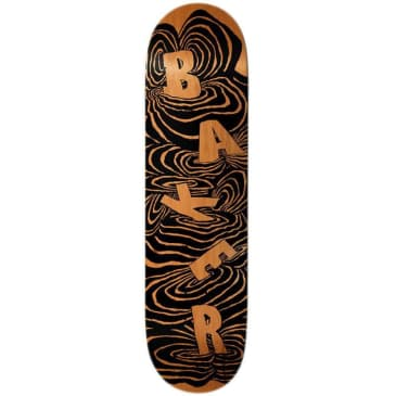 Baker Skateboards Kader Swirls Skateboard Deck - 8.125""